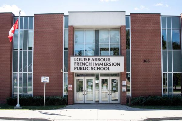 Louise Arbour French Immersion on Belfield Street is home to the One World International Welcome Centre.