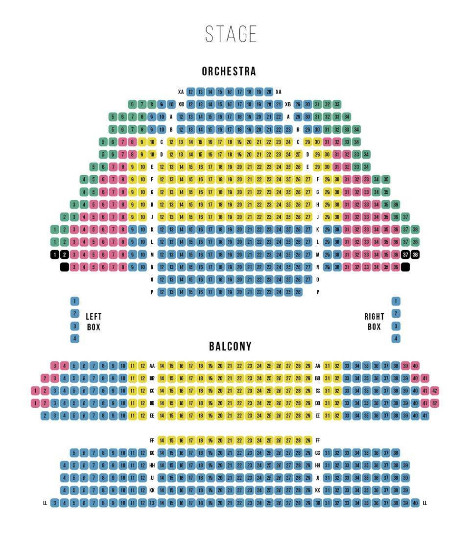 Ticket & Seating Info | Grand Theatre London